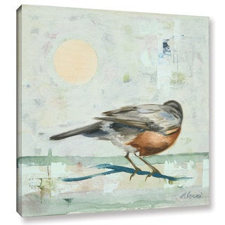 ArtWall Ninalee Irani's Robin, Gallery Wrapped Canvas