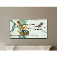 Laurel Creek Scott Ninalee Irani's Birds In Trees, Gallery Wrapped Canvas