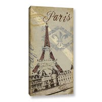 ArtWall Jo Moulton's Paris, Gallery Wrapped Canvas