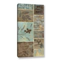ArtWall Jo Moulton's Blue Horizon II, Gallery Wrapped Canvas