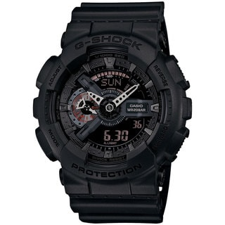 Casio G-Shock Men's GA110MB-1ACR Analog-Digital Dial Black Resin Watch