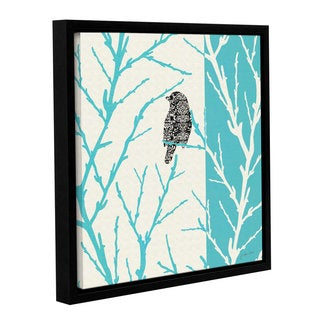 ArtWall Jo Moulton's Among The Sticks II, Gallery Wrapped Floater-framed Canvas