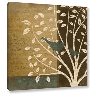 ArtWall Jennifer Pugh's Song Birds II, Gallery Wrapped Canvas
