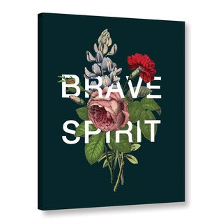 ArtWall Aubree Perrenoud's Brave Spirit, Gallery Wrapped Canvas