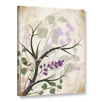 ArtWall Jennifer Pugh's Lavender And Sage Flourish, Gallery Wrapped Canvas