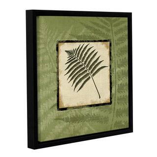 ArtWall Jennifer Pugh's Fern I, Gallery Wrapped Floater-framed Canvas