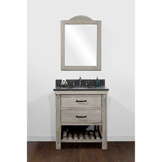 rustic pine bathroom vanities. Rustic Style Matte Ash Grey Limestone Top 30-inch Bathroom Vanity Pine Vanities N