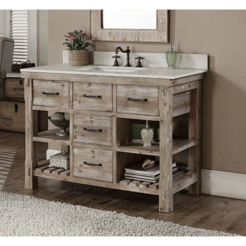 Buy Distressed Bathroom Vanities Amp Vanity Cabinets Online At Overstock Our Best