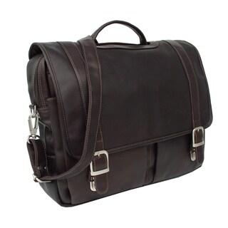 Piel Leather Ultimate Organized Portfolio Briefcase