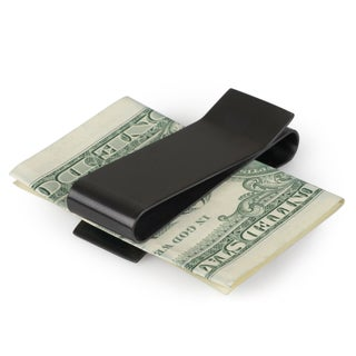 Kenneth Cole Reaction Men's Reversible Brushed Metal Money Clip