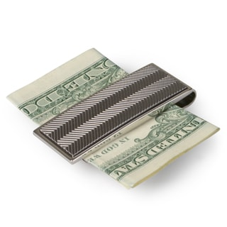 Kenneth Cole Reaction Men's Textured Metal Money Clip