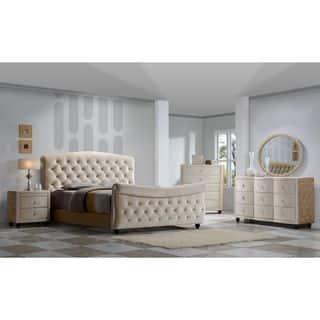 Diamond Golden Beige Velvet Tufted Sleigh Bed|https://ak1.ostkcdn.com/images/products/10991648/P18012319.jpg?impolicy=medium