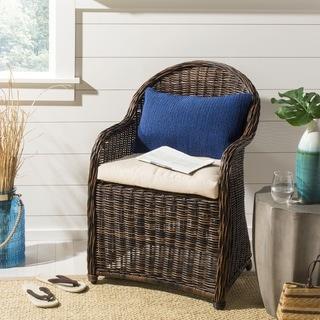 Safavieh Soleil Solid Indoor/ Outdoor Dark Marine Blue 12-inch x 20-inch Throw Pillows (Set of 2)