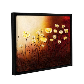 Carmen Guedez's Floral Garden, Gallery Wrapped Floater-framed Canvas