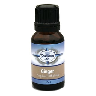 Destination Oils Therapeutic Quality15ml Ginger (Zingiber Officinale) Essential Oil