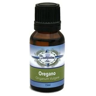 Pure Oregano Essential Oil Origanum Vulgare 15ml Destination Oils