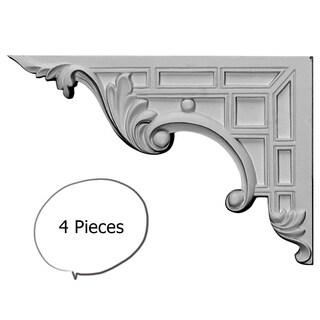Decorative Stair Brackets LEFT 4 Pieces