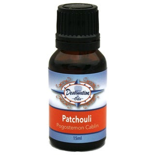 Patchouli Pogostemon Cablin Essential Oil 15ml Blend by Destination Oils