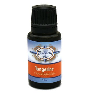 Destination Oils Therapeutic Quality 15ml Tangerine (Citrus Reticulata) Essential Oil