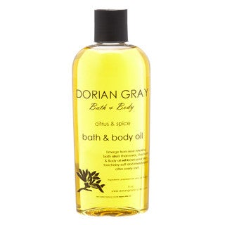 Dorian Gray Citrus Spice Bath and Massage Oil