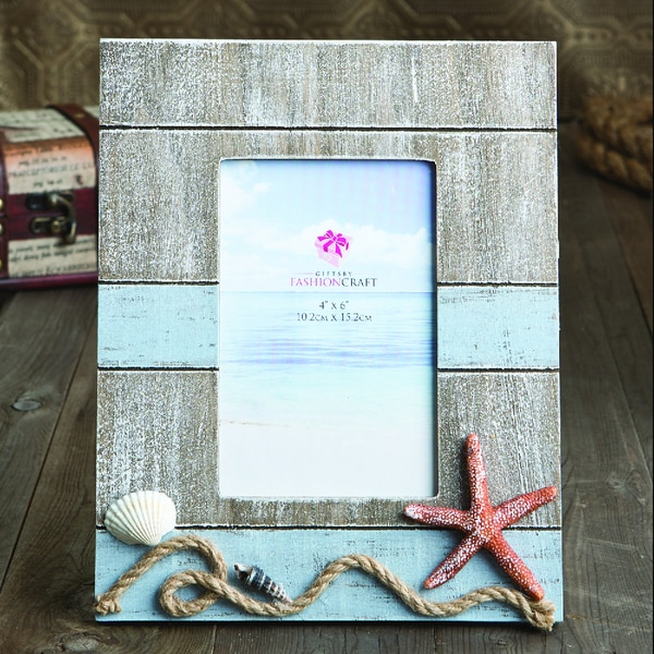 nautical beach theme picture frame - Nautical Frames
