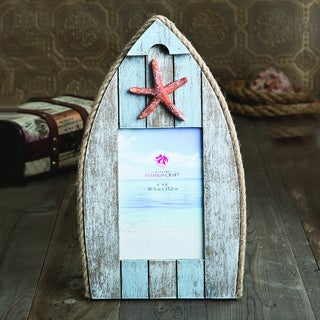 Boat-Shaped Photo Frame