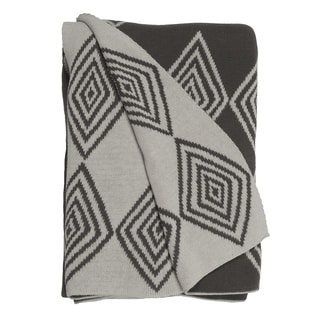 Handmade Ashmont Grey Throw (India)