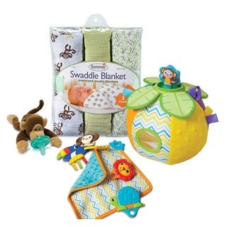 Summer Infant Monkey and Me Infant Play and Sleep Set