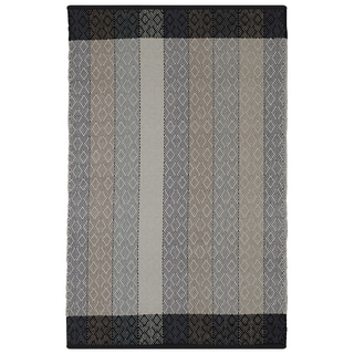 Indian Dream Multicolored Cotton Rug (5' x 8')