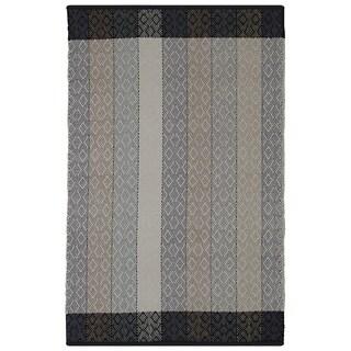 Indian Dream Multicolored Cotton Rug (6' x 9')