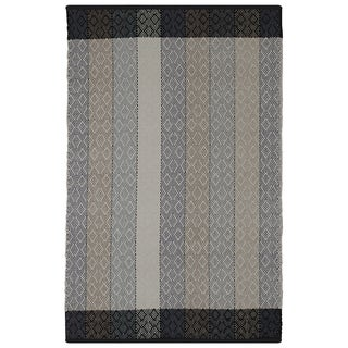 Indian Dream Multicolored Cotton Rug (4' x 6')