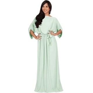 Koh Koh Women's Batwing Half-Sleeve Boat Neck Maxi Dress https://ak1.ostkcdn.com/images/products/10992072/P18012556.jpg?_ostk_perf_=percv&impolicy=medium