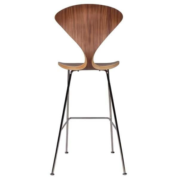 Shop Cherner Inspired Bar Stool With Metal Legs On Sale Free