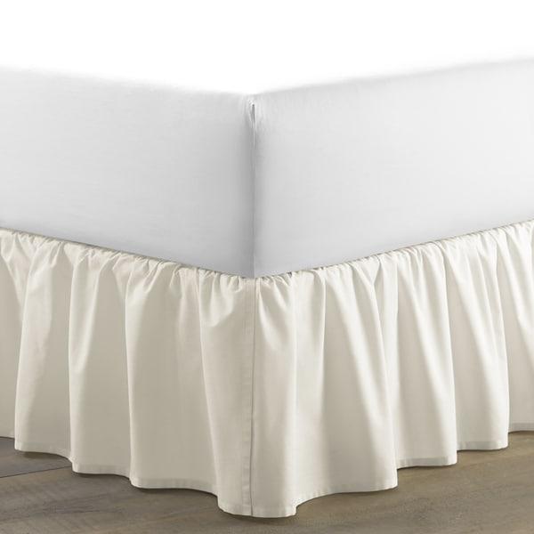 Laura Ashley Ivory Ruffled 15-inch Drop Bedskirt