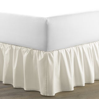 Laura Ashley Ivory Ruffled 15-inch Bedskirt