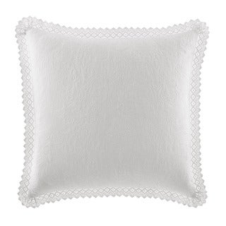 Laura Ashley Crochet European White Sham