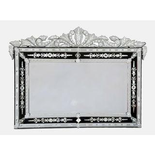ABC Accents Loreta Black Venetian Mirror
