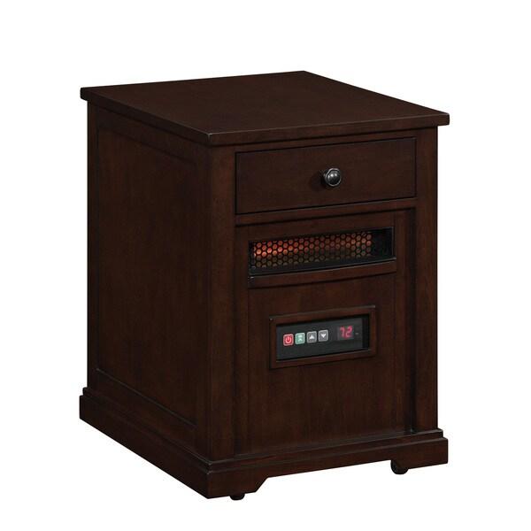 10HET6493-E444 Espresso Portable Electric Infrared Quartz Heater