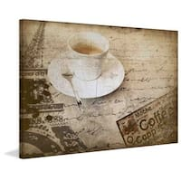 Marmont Hill - Coffee Drink by Irena Orlov Painting Print on Canvas
