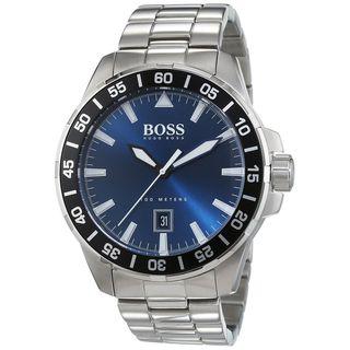 Hugo Boss Men's 1513230 'Deep Ocean' Blue Stainless Steel Watch
