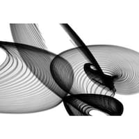 Marmont Hill - Abstract Black and White 22-14-14 by Irena Orlov Painting Print on Canvas