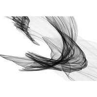 Marmont Hill - Abstract Black and White 20-29-04 by Irena Orlov Painting Print on Canvas