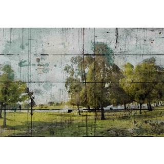 Marmont Hill - Green Park by Irena Orlov Painting Print on Canvas
