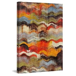 Marmont Hill - Wavy Blends by Irena Orlov Painting Print on Canvas