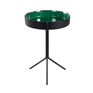 Emerald and Black Bowl Table (India)