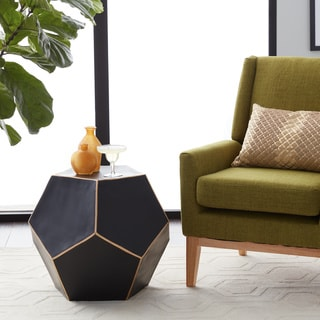 Gold-trimmed Dodecahedron Table (India)