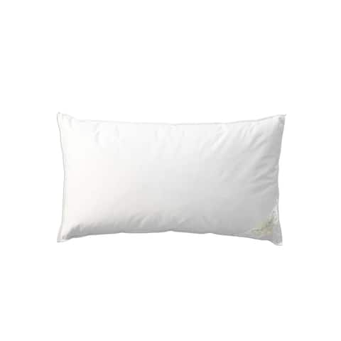 Pandora de Balthazar Hungarian Goose Down Medium Firm Pillow - White