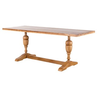 Reclaimed Wood Trestle Dining Table