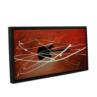Carmen Guedez's Gitarre, Gallery Wrapped Floater-framed Canvas