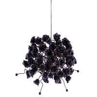 Black Rosettes Pendant Hanging Light